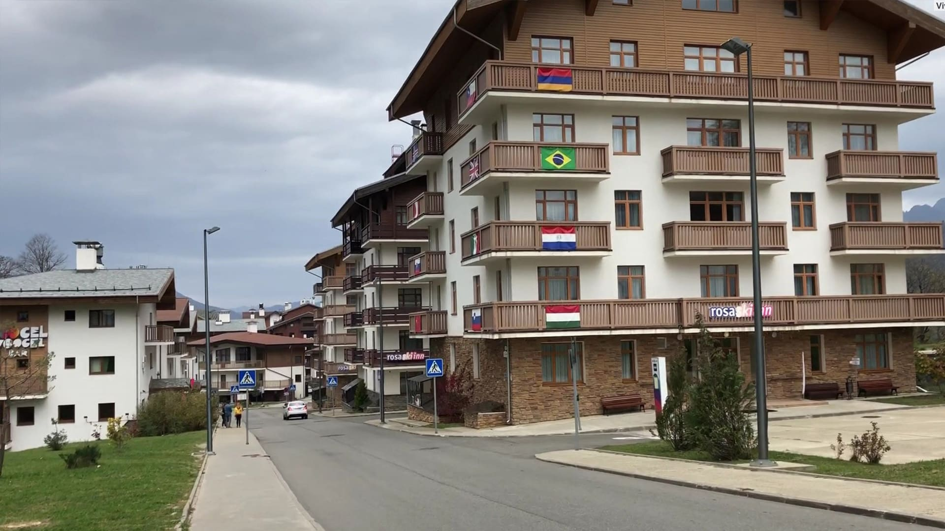 Горная олимпийская деревня лето 30