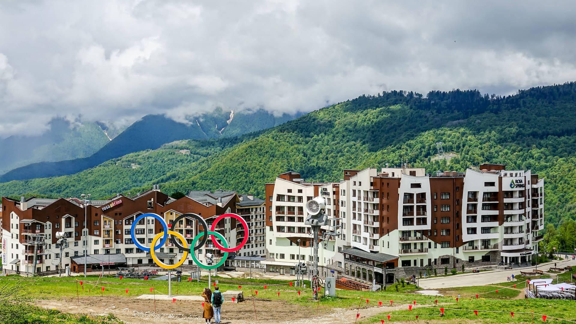 Горная олимпийская деревня лето 8